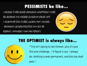 Optimism vs Pessimism Quotes