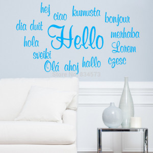 hello quotes Promotion