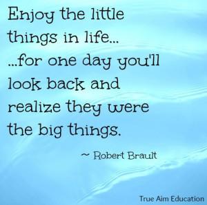 Enjoy the little things! - faith & family
