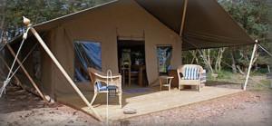 Lapwing Safari Tent Tyninghame East Lothian