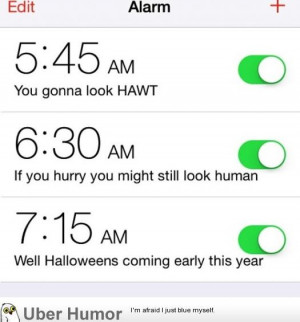 friend showed me her wake up alarms.