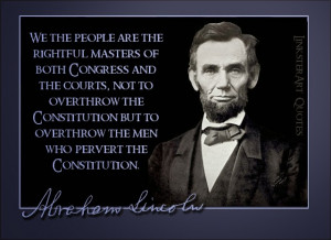 Quotable Quotes: Abraham Lincoln