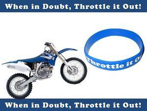 ... -Bracelet-MX-Dirtbike-Yamaha-Fan-YZ-Silicone-Statement-Funny-Quote