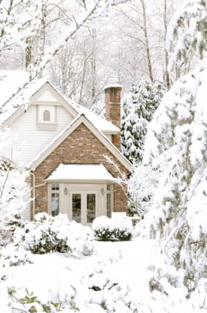 Christmas snow winter white Home warm house cozy snow blanket