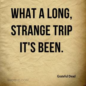 Grateful Dead - What a long, strange trip it's been.