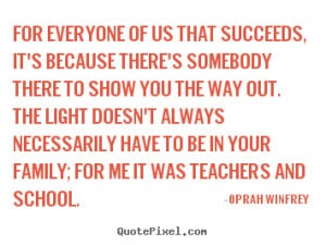 """Oprah Winfrey said: """"There's only one way I've been able to survive ..."""