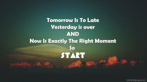 Homepage » inspirational & quotes » inspirational quotes do it today ...