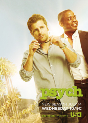 The network just released a poster hyping Psych 's fifth season. It ...