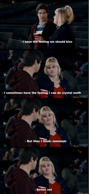 pitch perfect, funny quotes