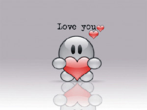 love you heart wallpaper quotes
