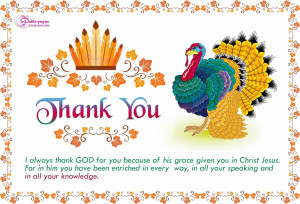 Happy Thanksgiving Day Wishes Card with Quote Greetings Wallpapers ...