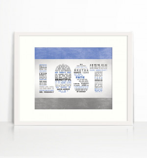 LOST - TV Series - Memorable Quotes - Wall Art - 8x10 Word Art ...