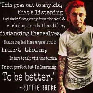 Ronnie Radke Falling In Reverse Escape The fate Quotes Speeches