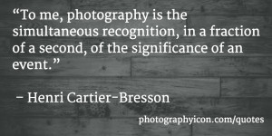 ... of an event Henri Cartier Bresson - Icon Photography School