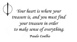 where is your heart where your treasure is what do you treasure that ...