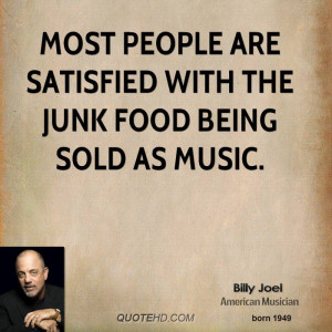 Billy Joel Music Quotes