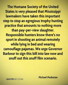 of the United States is very pleased that Mississippi lawmakers ...