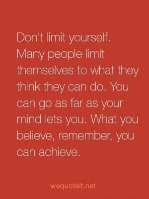Just Believe #quote