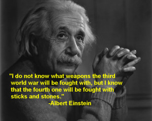 Albert Einstein Quotes About Technology I Fear The Day -albert ...