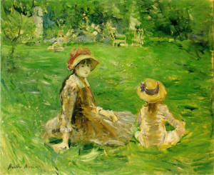 Back to Berthe Morisot paintings