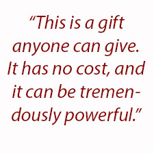think donation fits perfectly with the concept of giving this time ...