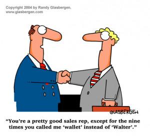 Funny Pics Cartoons   Funny Sales Cartoon - Sales Call
