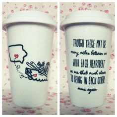 ... Bff Military Missing You Travel Coffee Mug. $25.00, via Etsy. More
