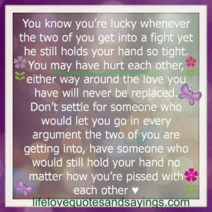 You may have hurt each other..