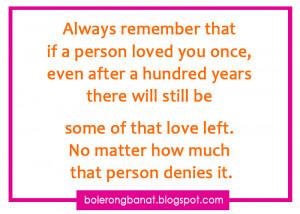 Tagalog Banat Love Quotes...