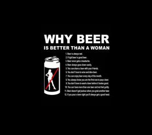 Beer,black,can,cool,funny,humor,widescreen,woman,wallpaper,