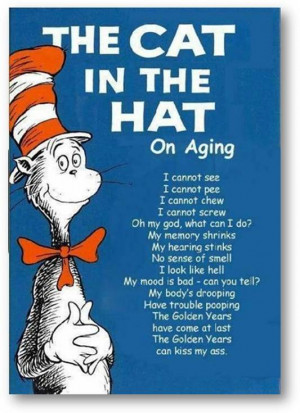 Dr. Seuss on Aging