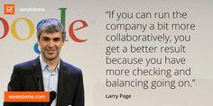 ... business. #collaboration #checks #balances #motivational #quotes More