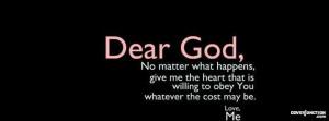 To God, Love Me