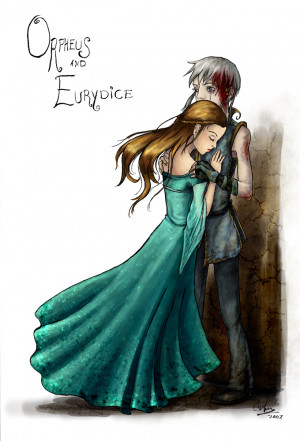 Orpheus And Eurydice Drawing Orpheus and eurydice by