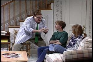 Hilarious! Chris Farley as Matt Foley, motivational speaker.