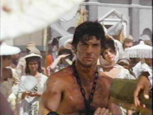 Another picture of Patrick Warburton and in the movie, Dragonard