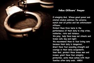 Police Prayer Image