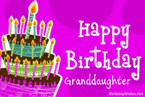 granddaughter birthday wishes