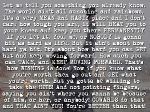 These are the Rocky Balboa Quotes Wallpaper Pictures