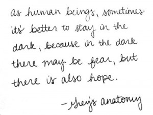 greys anatomy, quote, text, white paper quote