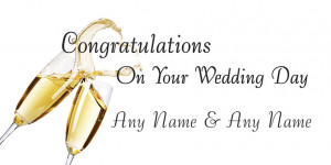Search Results for: Congratulations On Your Wedding Day
