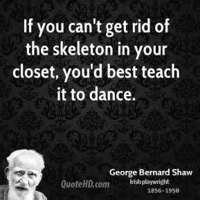 if you cant get rid of the skeletons in your closet - Yahoo Image ...
