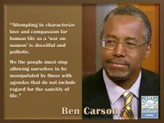 Dr. Ben Carson Pres 2016
