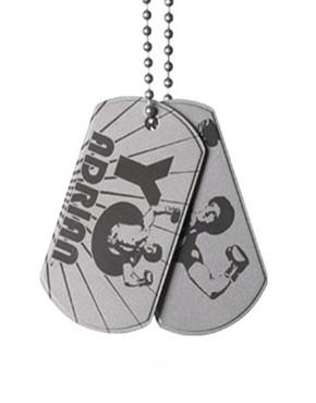 Rocky Balboa Yo Adrian Dog Tags Necklace