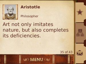 Screenshot 2 of 3001 Wisdom Quotes (BlackBerry)