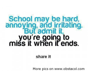 school may be hardannoyingand irritating funny quote Funny Quotes ...