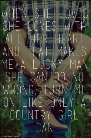Only a country girl