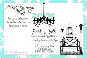Heavenly Housewarming Party Invitation Wording Ideas