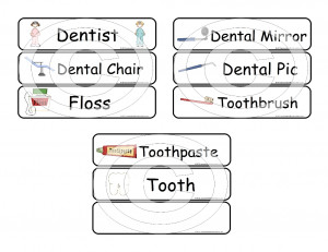 Dental Hygiene Tools Names