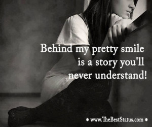 Behind me pretty The pictorial quotes